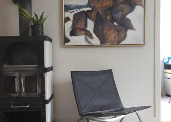 Kunst i private hjem, malerier malet af Lene Høffner, Galleri Lykkelig, Svendborg, Fyn, Svendborg